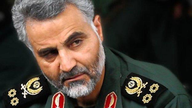 Qasem Soleimani. Wikimedia Commons