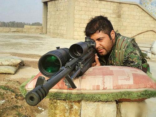 Kurdish YPG Sniper