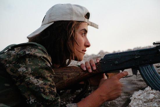 Kurdish YPJ Guerilla