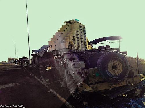 Mosul Humvees