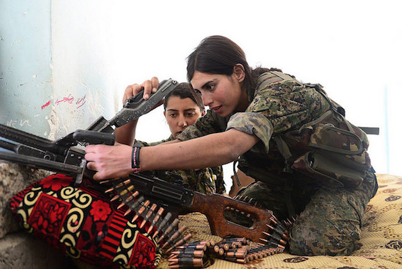 Yazidi YBS Fighters