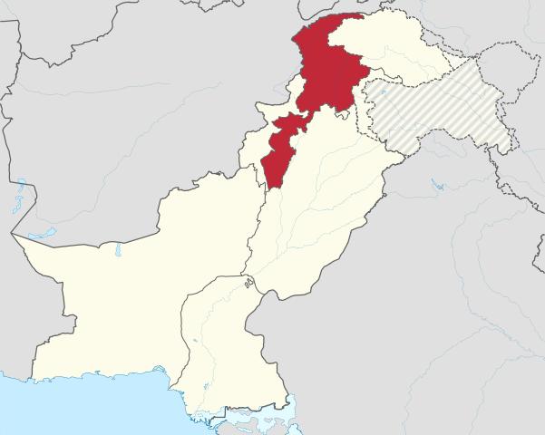 Khyber Province map